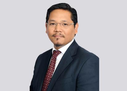 Image of Shri Conrad Kongkal Sangma, Chief Minister