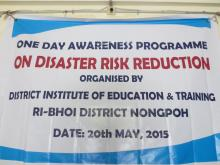 One day awerness programme Disaster risk reduction programme